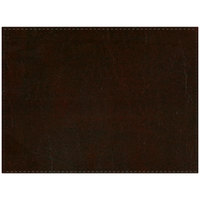 H. Risch, Inc. PLACEMATDX-LTHWINE Tuxedo Leather 16 inch x 12 inch Customizable Wine Premium Sewn Rectangle Placemat