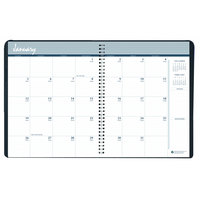 House of Doolittle 26207 8 1/2 inch x 11 inch Recycled Blue Ruled 14-Month Monthly December 2019 - January 2021 Appointment Book