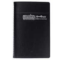 House of Doolittle 29602 Express Track 8 1/2 inch x 11 inch Recycled Black Weekly / Monthly January 2020 - January 2021 Appointment Book