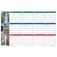 House of Doolittle 393 24 inch x 37 inch Recycled Earthscape Nature Scene Yearly January 2019 - December 2019 Reversible Wall Calendar