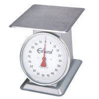 Edlund HD-100 Heavy-Duty 100 lb. Receiving Scale with 12 inch x 12 inch Platform