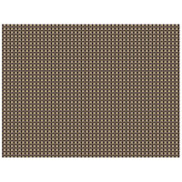 H. Risch, Inc. 12 inch x 16 inch Pewter / Copper Vinyl Rectangle Placemat - 12/Pack