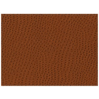 H. Risch Inc. Chesterfield 12 inch x 16 inch Brown Premium Sewn Rectangle Placemat