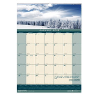 House of Doolittle 362 12 inch x 16 1/2 inch Recycled Landscape Monthly January 2019 - December 2019 Wall Calendar