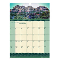 House of Doolittle 362 12 inch x 16 1/2 inch Recycled Landscape Monthly January 2020 - December 2020 Wall Calendar