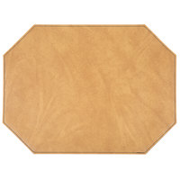 H. Risch Inc. Harley 12 inch x 16 inch Nugget Premium Sewn Octagon Placemat