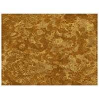 H. Risch Inc. PLACEMATDX-METFOOLSGOLD Brushed Metallic 16 inch x 12 inch Fool's Gold Premium Sewn Vinyl Rectangle Placemat