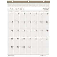 House of Doolittle 380 20 inch x 26 inch Recycled Large Print Monthly January 2019 - December 2019 Wall Calendar