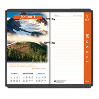 House of Doolittle 417 3 1/2 inch x 6 inch Earthscapes 2019 Desk Calendar Refill