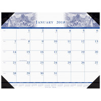 House of Doolittle 140HD 22 inch x 17 inch Recycled Nature Photo Theme Monthly January 2019 - December 2019 Desk Pad Calendar