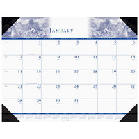 House of Doolittle 140HD 22 inch x 17 inch Recycled Nature Photo Theme Monthly January 2020 - December 2020 Desk Pad Calendar