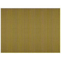 H. Risch, Inc. 12 inch x 16 inch Maroon / Green Vinyl Rectangle Placemat - 12/Pack