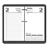 House of Doolittle 4717 3 1/2 inch x 6 inch Economy Daily Desk Calendar Refill