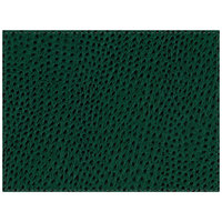H. Risch Inc. Chesterfield 12 inch x 16 inch Green Premium Sewn Rectangle Placemat