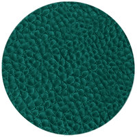 H. Risch Inc. 13 inch Aqua Vinyl Round Placemat