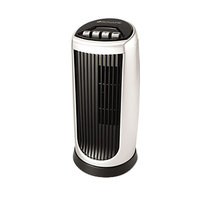 Bionaire BT014AU Black / Silver Two-Speed Oscillating Mini Tower Fan