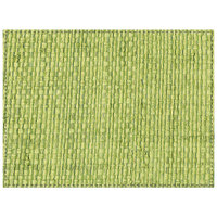 H. Risch Inc. PLACEMATDX-RATTANOLIVEGROVE 16 inch x 12 inch Olive Grove Premium Sewn Rattan Rectangle Placemat