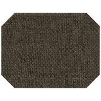 H. Risch Inc. PLACEMATDXOCT-RATTANSTONEHENGE 16 inch x 12 inch Stonehenge Premium Sewn Rattan Octagon Placemat