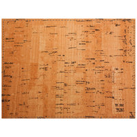 H. Risch Inc. Vino 12 inch x 16 inch Natural Premium Sewn Rectangle Placemat