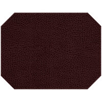 H. Risch Inc. Sedona Distressed 12 inch x 16 inch Napa Premium Sewn Octagon Placemat