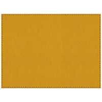 H. Risch Inc. Park Ave 12 inch x 16 inch Sunflower Premium Sewn Rectangle Placemat