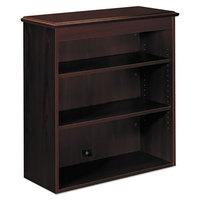 HON 94210NN 94000 Series 35 3/4 inch x 14 5/16 inch x 37 inch Mahogany Bookcase Hutch