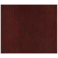 H. Risch, Inc. 13 inch x 15 inch Customizable Wine Hardboard / Faux Leather Rectangle Placemat