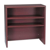 HON 105292NN 10500 Series Mahogany 2 Shelf Wood Bookcase Hutch - 36 inch x 14 5/8 inch x 37 1/8 inch