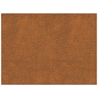 H. Risch Inc. Sedona Saddle 12 inch x 16 inch Carmel Premium Sewn Rectangle Placemat