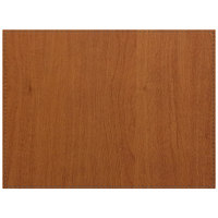 H. Risch, Inc. Sherwood 12 inch x 16 inch Customizable Maple Premium Sewn Rectangle Placemat