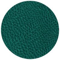 H. Risch Inc. 15 inch Aqua Vinyl Round Placemat