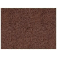 H. Risch Inc. Sedona Saddle 12 inch x 16 inch Cocoa Premium Sewn Rectangle Placemat