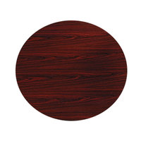 HON TLD42GNNN 10500 Series 42 inch Mahogany Round Conference Table Top
