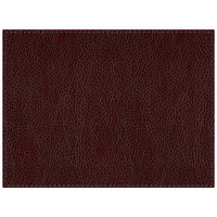 H. Risch Inc. Sedona Saddle 12 inch x 16 inch Brick Premium Sewn Rectangle Placemat