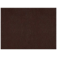 H. Risch Inc. Sedona Saddle 12 inch x 16 inch Coffee Premium Sewn Rectangle Placemat