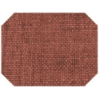 H. Risch Inc. PLACEMATDXOCT-RATTANBRYCECANYON 16 inch x 12 inch Bryce Canyon Premium Sewn Rattan Octagon Placemat
