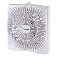 Holmes HABF120WN 10 inch White 2-Speed Personal Size Box Fan