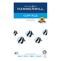 Hammermill 105015 Copy Plus 8 1/2 inch x 14 inch White Ream of 20# Copy Paper - 500/Sheets