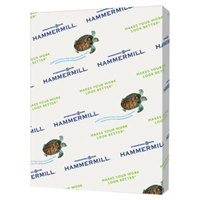 Hammermill 103820 8 1/2 inch x 11 inch Turquoise Ream of 20# Recycled Colored Copy Paper - 500/Sheets