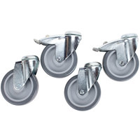 APW Wyott 0-999-002 5 inch Casters HDD, HDDS, HDX Series Countertop Drawer Warmers - 4/Set