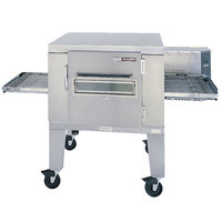 Lincoln 1400-1G Impinger I 1400 Series Liquid Propane Single Conveyor Radiant Oven Package with 40 inch Long Baking Chamber - 120,000 BTU
