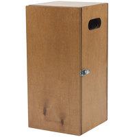 Bon Chef 840006W 18 1/2 inch x 9 inch x 9 inch Wooden Gravy Warmer Box