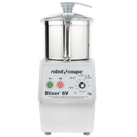 Robot Coupe Blixer 6V Variable Speed Food Processor with 7 Qt. Stainless Steel Bowl - 3 hp