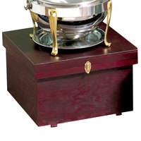 Bon Chef 812000W 25 inch x 25 inch x 15 inch Wooden Chafer Box
