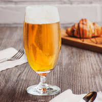 Acopa 15 oz. Stemmed Pilsner Glass - 12/Case