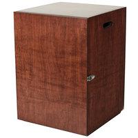 Bon Chef 840007W 16 1/2 inch x 16 1/2 inch x 23 inch Wooden Marmite Box
