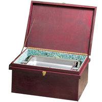Bon Chef 812040W 30 inch x 18 inch x 15 inch Wooden Chafer Box