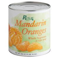 Regal #10 Can Whole Mandarin Orange Segments in Light Syrup