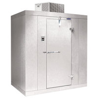 Nor-Lake KLX7766-C Kold Locker 6' x 6' x 7' 7 inch Indoor Low Temperature Walk-In Freezer