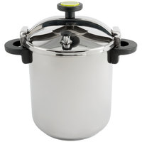 Matfer Bourgeat 013206 Monix 50 Cup (25 Cup Raw) 12.66 qt. (12 Liter) Stainless Steel Pressure Cooker